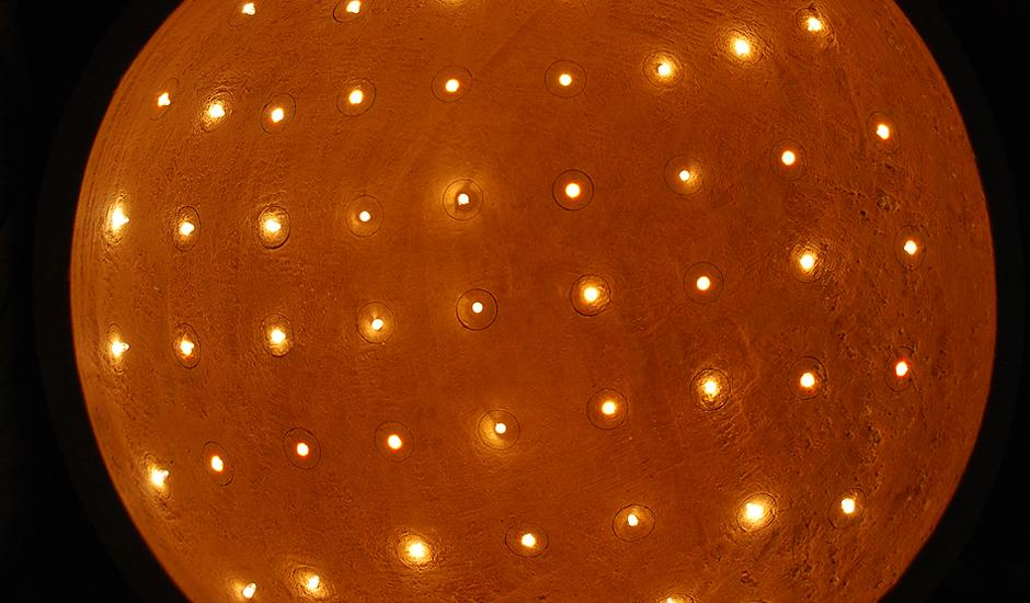 Astral - light sculpture